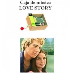 Caja de música Love Story