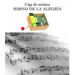 """Caja de música """"Himno de la Alegría"""""""