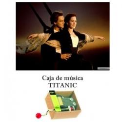 Caja de música My heart will go on - Titanic