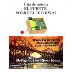 Caja de música El puente sobre el río Kwai