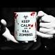Taza Keep Calm and Kill Zombies