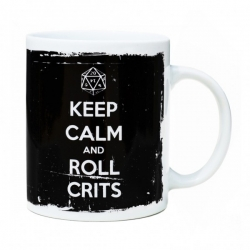 Taza Keep Calm and Roll Crits