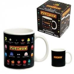 Taza Pac-Man Glossary - cambia con el calor