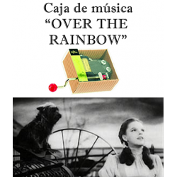 Caja de música Over the Rainbow