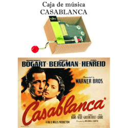 Caja de música Casablanca