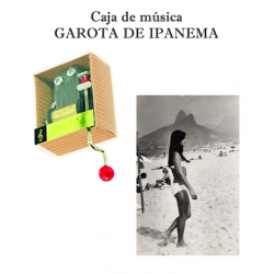 Caja de música Garota de Ipanema