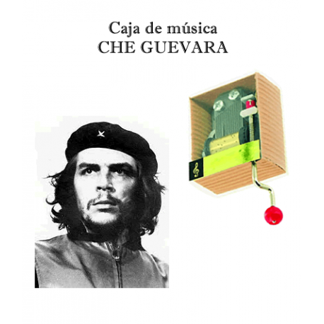 Caja de música Che Guevara
