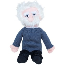 Peluche Albert Einstein Little Thinkers