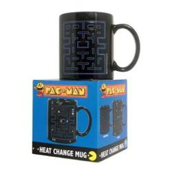 Taza Pac-Man laberinto cambia con el calor