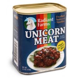 Carne de unicornio en lata.