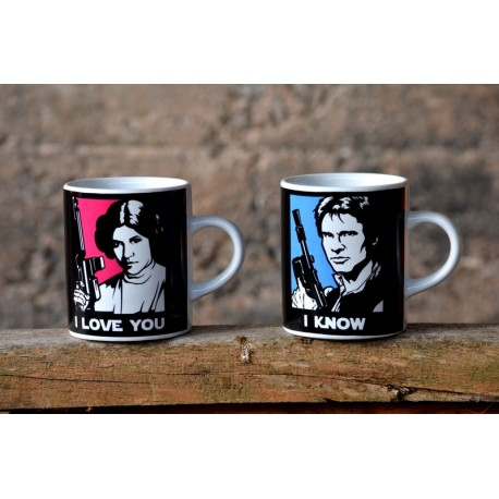 Mug I Love You Star Wars