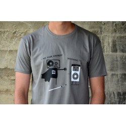 Camiseta Cassette Vader