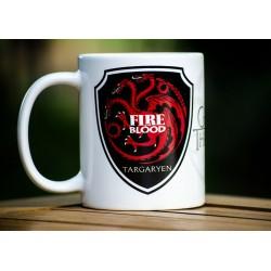 Taza Casa Targaryen Juego de Tronos