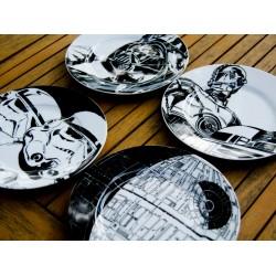 Set de 4 platos cerámica Star Wars