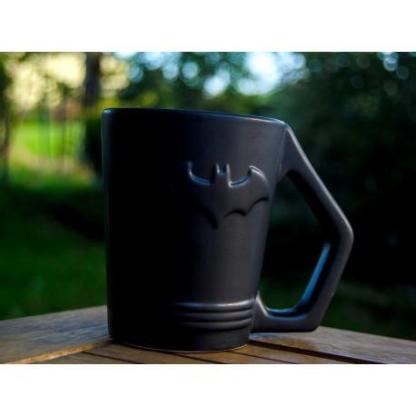 Taza con relieve logo Batman