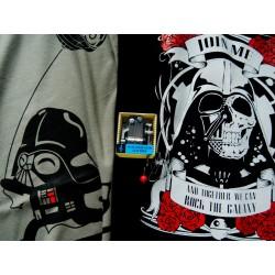 Camiseta Baby Vader + Rock Vader + regalo caja música Star Wars