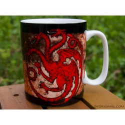 Mug Fire and Blood Targaryen