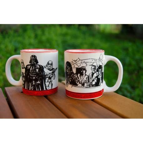 Set 2 minimugs Empire VS Rebels