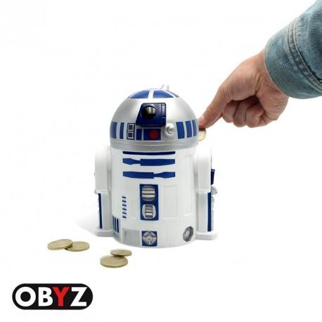 Hucha R2D2 con sonido 19 cm Star Wars