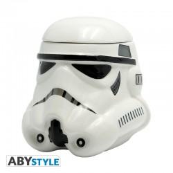 Taza Stormtrooper 3D cerámica grande y con tapa Star Wars