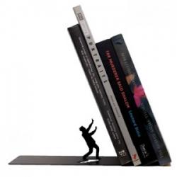 Sujeta libros Falling Bookend