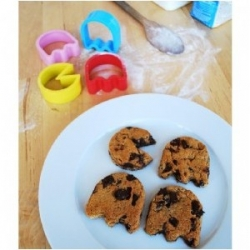 Moldes para galletas Pac-Man