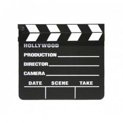 Claqueta cine Hollywood pequeña