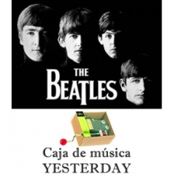 Caja de música Yesterday - The Beatles