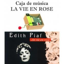 Caja de música La vie en rose