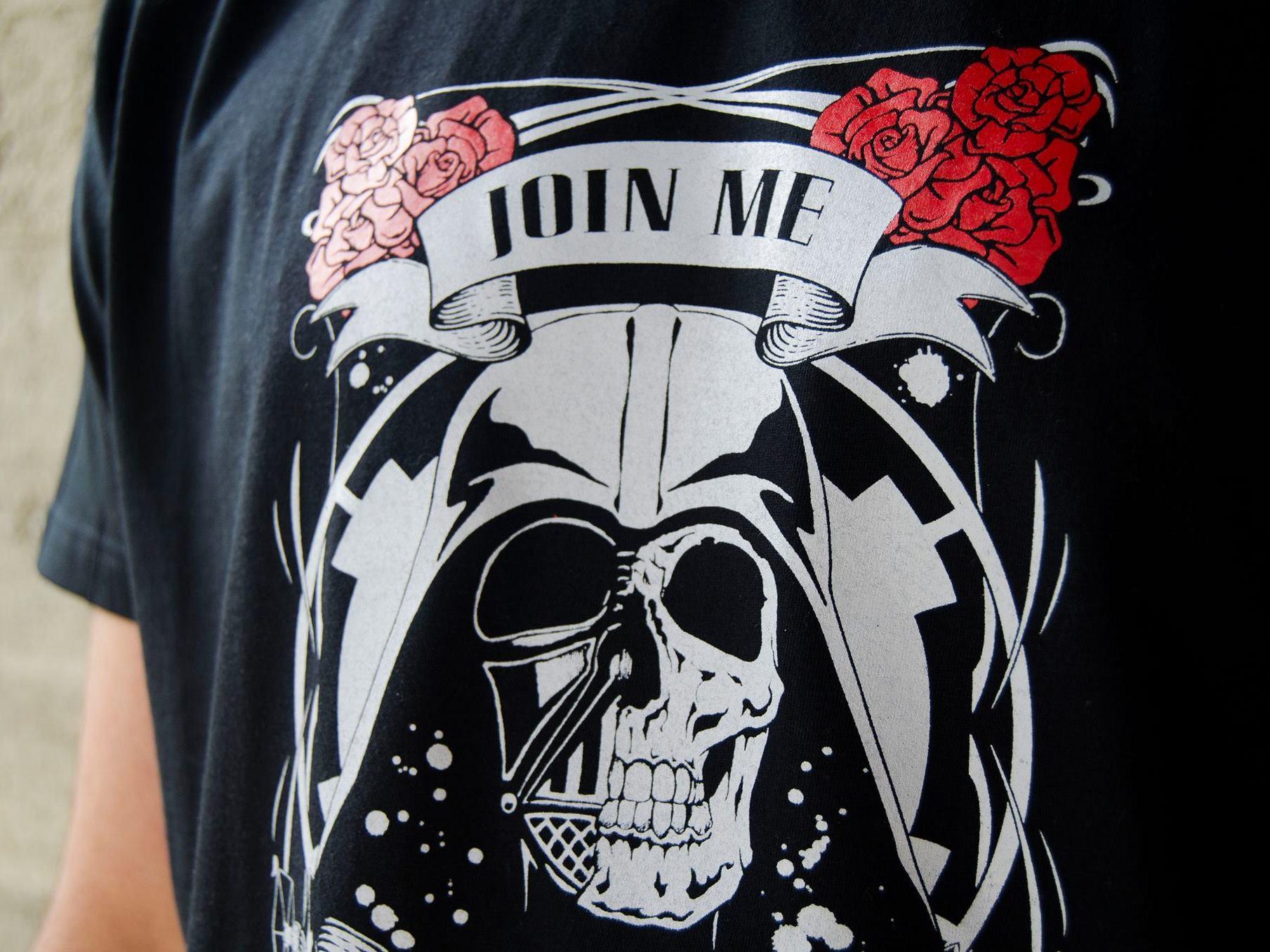 Camiseta Rock the Galaxy Star Wars