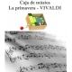Caja de música La Primavera - Vivaldi