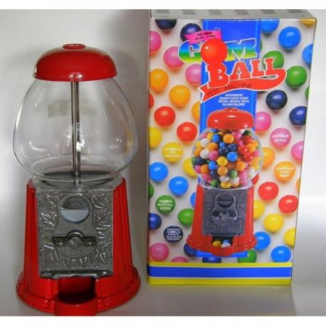 Caja de caramelos roja