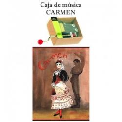 Caja de música Carmen
