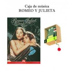 Caja de música Romeo y Julieta