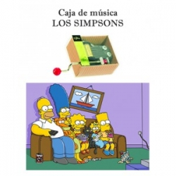 Caja de música The Simpsons