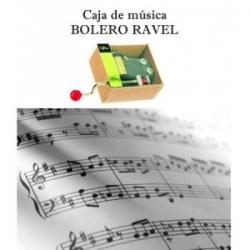 Caja de música Bolero Ravel
