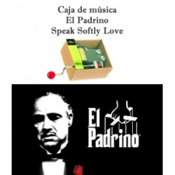 Caja de música El Padrino (Speak Softly Love)