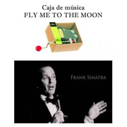 Caja de música Fly me to the moon