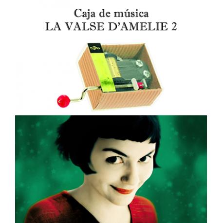 Caja de música La Valse d´Amelie 2