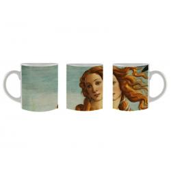 Taza mug El Nacimiento de Venus (detalle)
