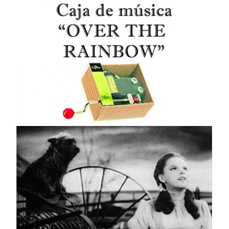 Caja de música Over the Rainbow