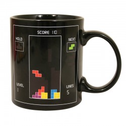 Taza Tetris sensitiva al calor