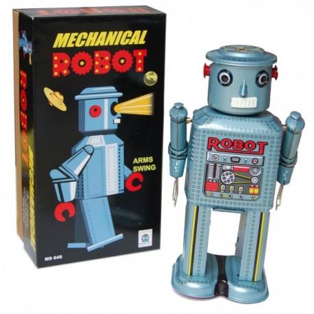 Robot MS646 plateado