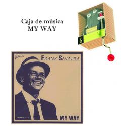 Caja de música My Way - Frank Sinatra