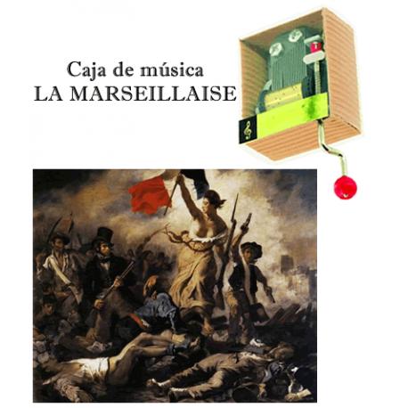 Caja de música La Marseillaise