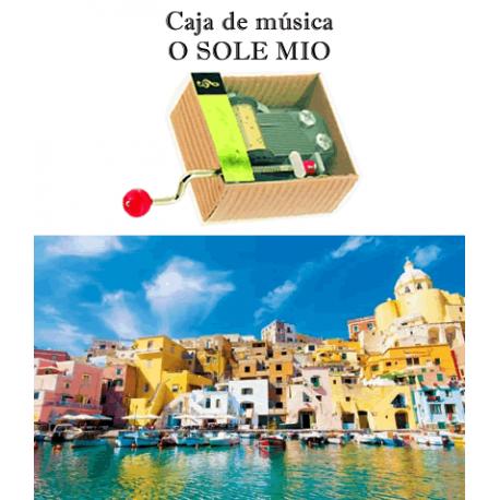 Caja de música O Sole Mio