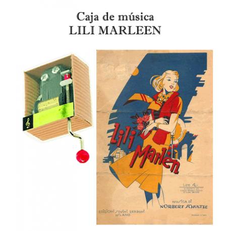 Caja de música Lili Marleen