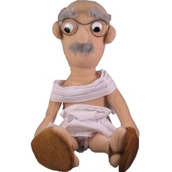 Peluche Mahatma Gandhi Little Thinkers