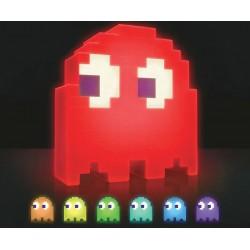 Lámpara led fantasma Pac-Man 20 cm