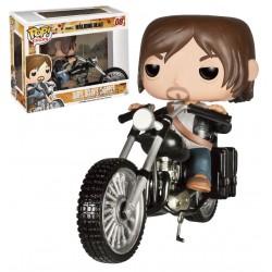 Figura Daryl Dixon con motocicleta Pop! Funko